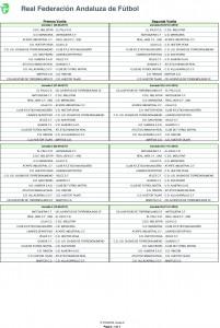 Calendario de Competición