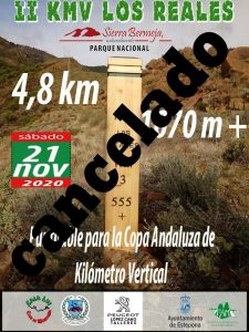 Cartel Suspendido II km Vertical