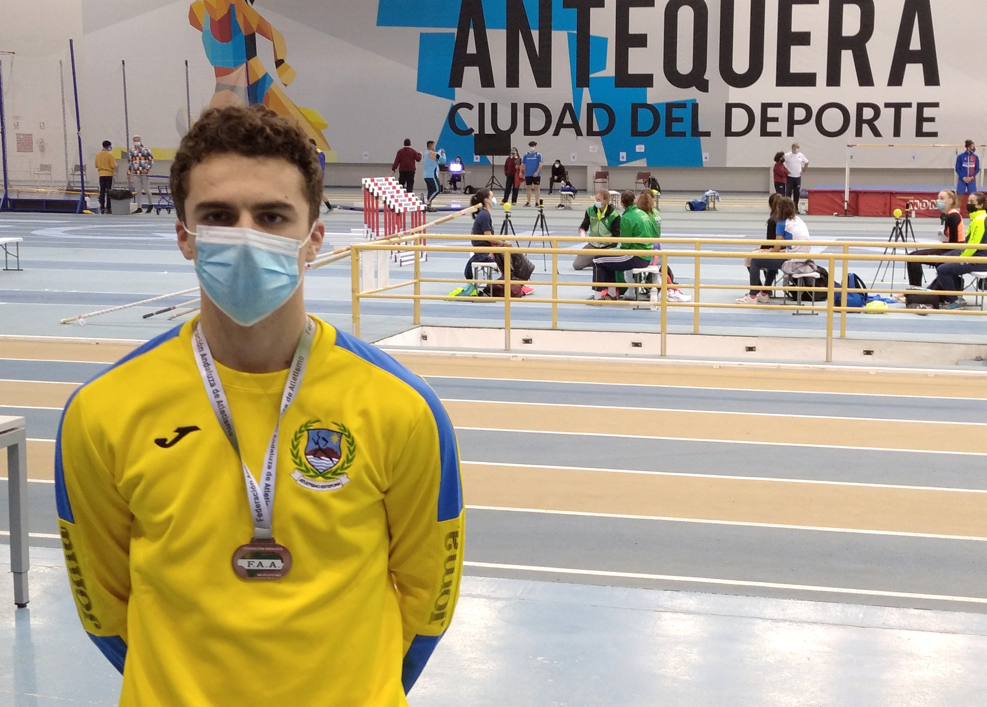Jugador Doce Atletismo Estepona Tornay